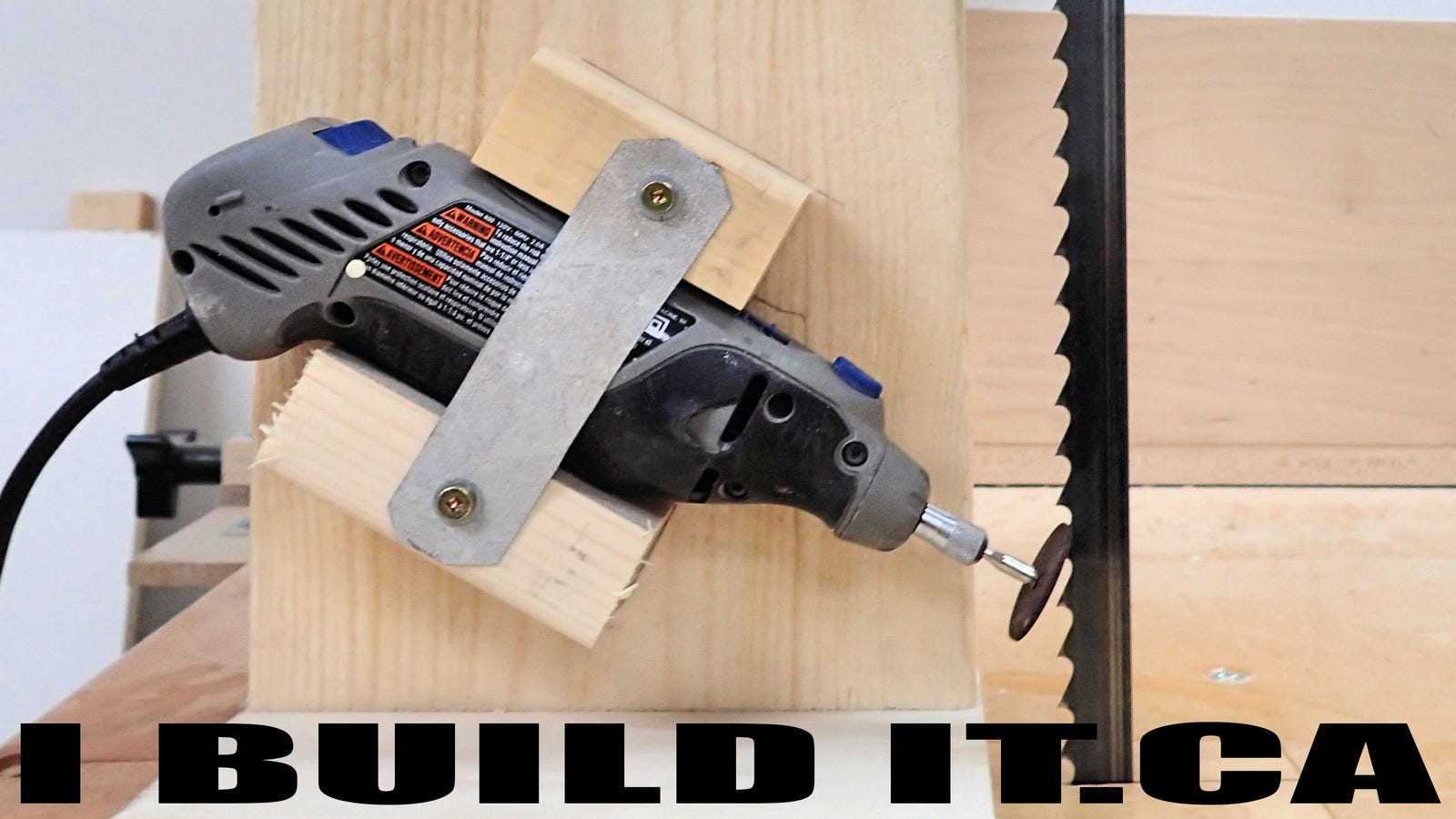 This DIY Band Saw Sharpening Jig Saves Your Blades (and Your