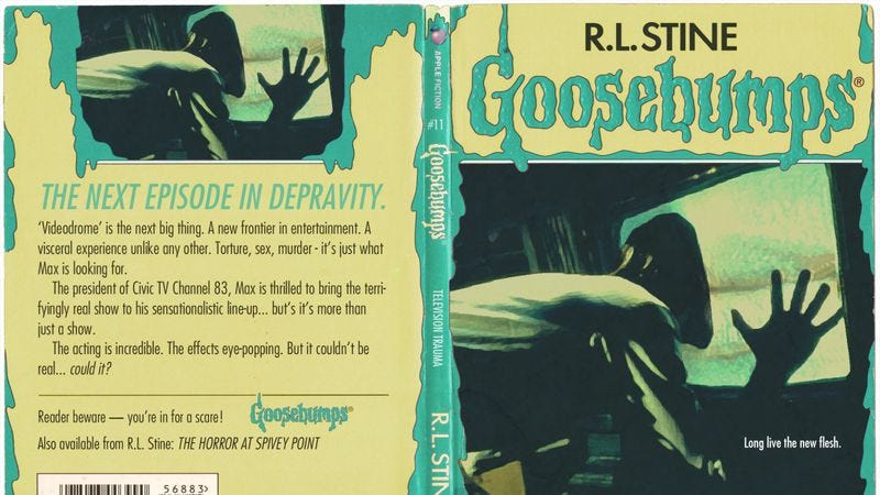 Illustration for article titled Hey, it's a bunch of horror movies remade as Goosebumps titles