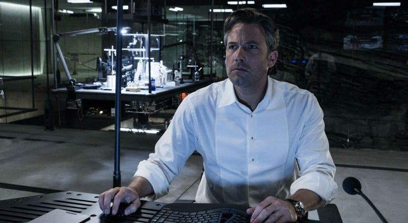 Ben Affleck is this serious about directing a solo Batman movie. All Images: Warner Bros.