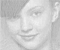 Illustration for article titled ASCII-O-Matic turns your portrait into text