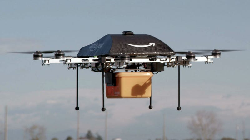 Illustration for article titled Amazon Was Just Granted Permission For Drone Research In The U.S.