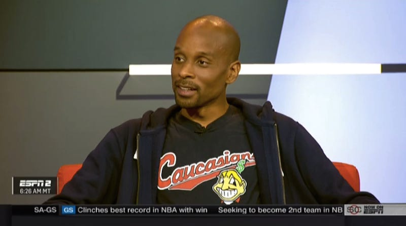 Illustration for article titled Bomani Jones Wears Shirt