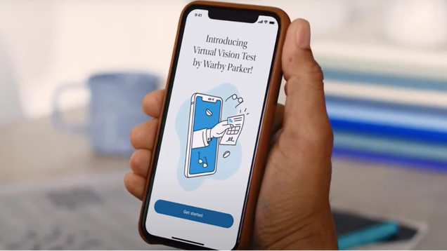 Warby Parker s New App Lets You Skip In-Person Vision Tests