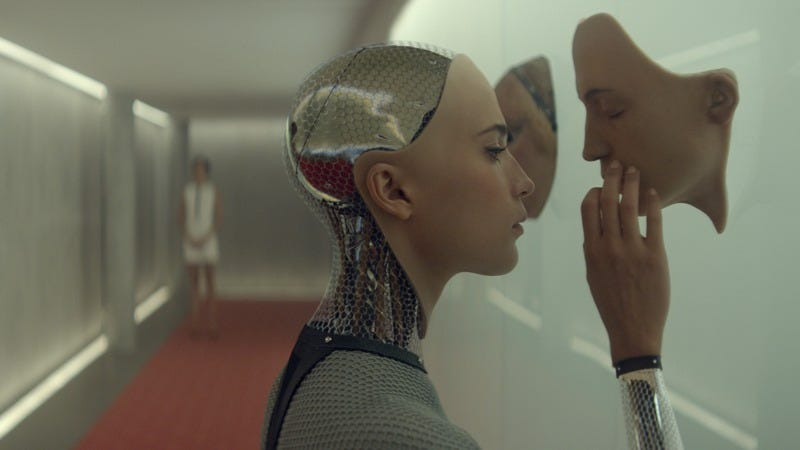 Illustration for article titled Ex Machina is smart sci-fi that loses its way