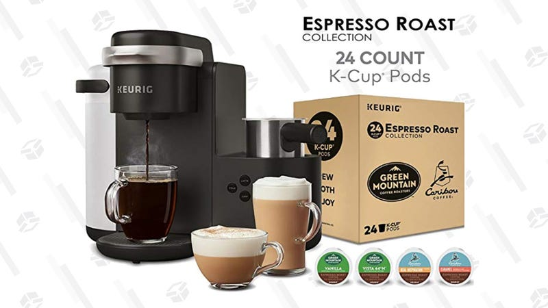 Keurig K-Cafe Single-Serve Latte and Cappuccino Coffe Maker Bundle| $110 | Amazon