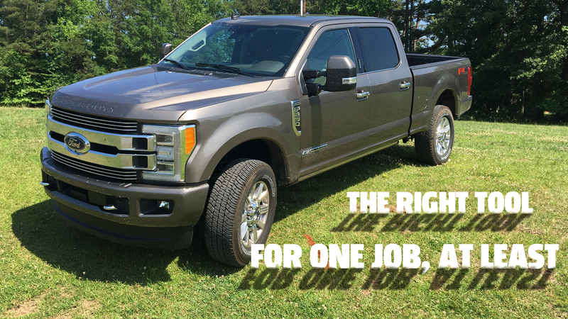 Illustration for article titled I Think I Found the One Thing the 2019 Ford Super Duty F-250 Limited Is Actually Good At