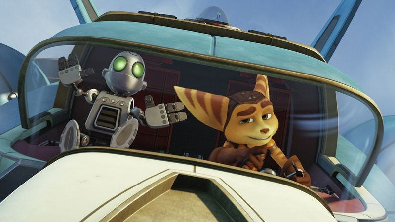 Illustration for article titled Ratchet & Clank comes to the big screen with a whimper and a thud