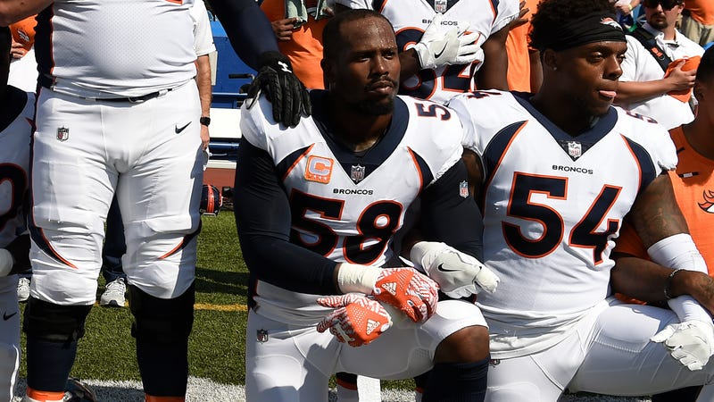 Von MIller, No. 58 of Denver Broncos (Joe Amon/Getty Images)