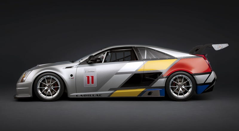 Cadillac CTS-V Coupe Race Car: One Fast