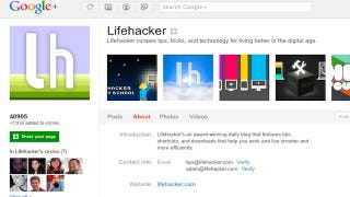 Illustration for article titled Circle Lifehacker and Our Writers on Google+ for A Choice Selection of Our Top Stories