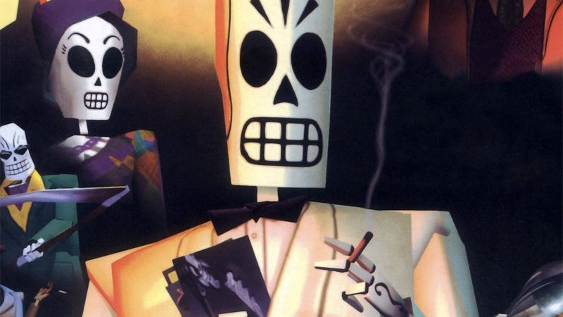 Illustration for article titled Tim Schafer Dreams Of An Open-World Grim Fandango Sequel