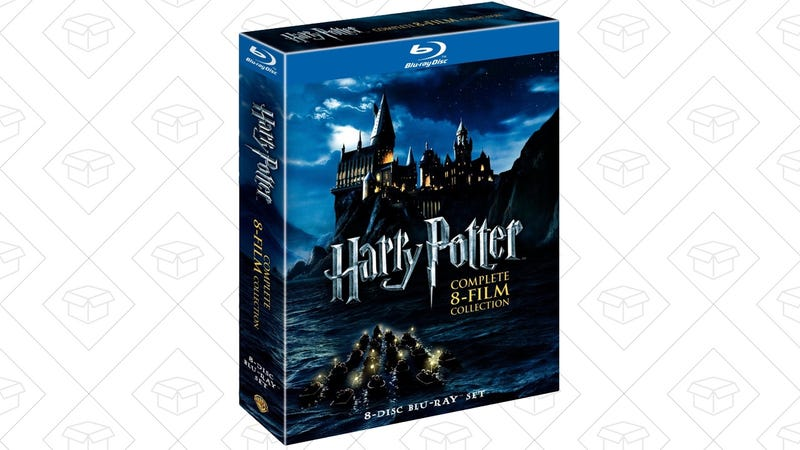 Harry Potter; The Complete 8-Film Blu-ray, $40