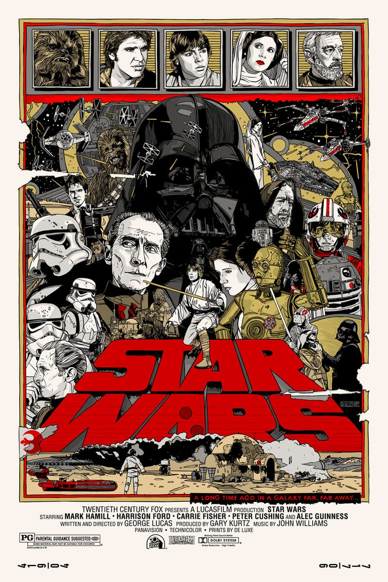 Illustration for article titled Star Wars Has Rarely Looked This Good