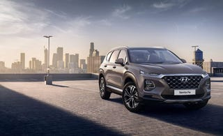 Illustration for article titled Here's the 2019 Hyundai Santa Fe