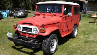 Illustration for article titled Would You Plow $7,500, Into This 1977 Toyota FJ-40?