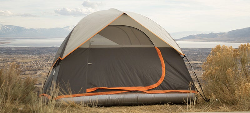 A comfy air mattress can make roughing it feel a little less rough although wrangling one inside a tent thatu0027s a little too small for your queen size bed ... & Tents Should Have Had Built-in Air Mattresses Since Day One