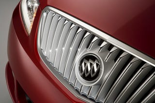 Illustration for article titled 2010 Buick LaCrosse Teaser Released, Reveals Buick Badge, Little Else