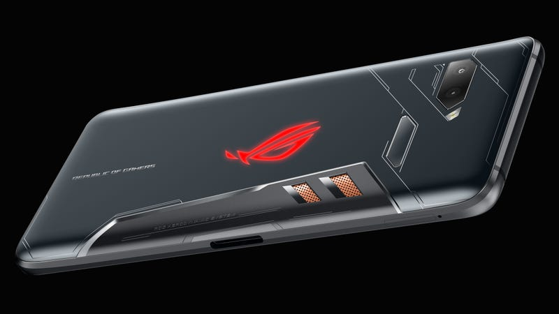 Asus' Multi-Port ROG Phone Is the Wildest Gaming Phone Yet