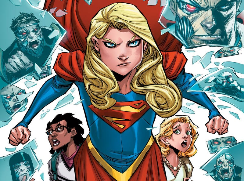 Illustration for article titled Exploring DC Rebirth: Supergirl by Steve Orlando and Brian Ching