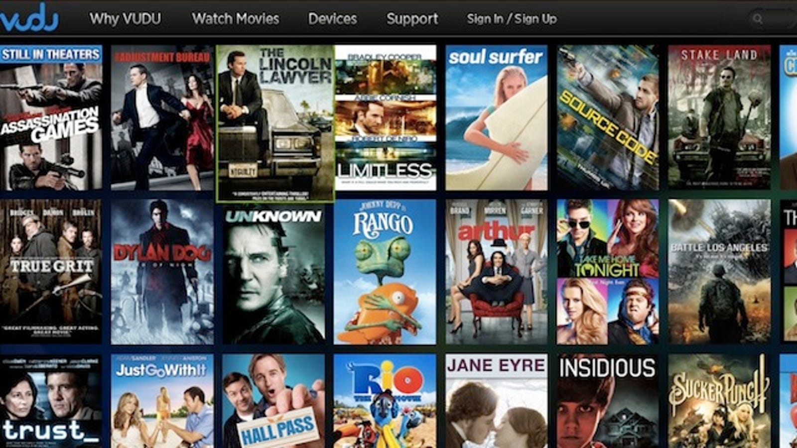 Watch Movies on Your iPad Without an App Using VUDU