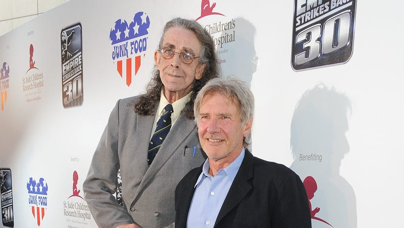 """Illustration for article titled Harrison Ford pens a very sweet tribute to his """"dear friend,"""" Peter Mayhew"""