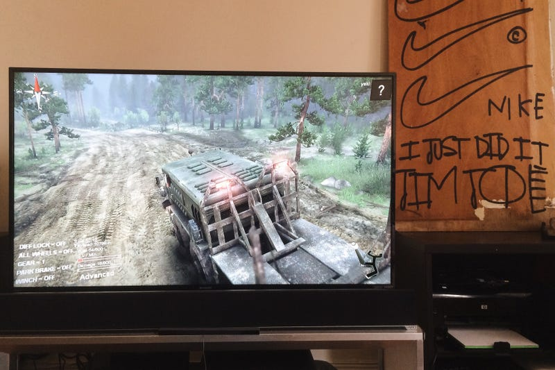 Illustration for article titled Spintires lookin crisp on the big screen