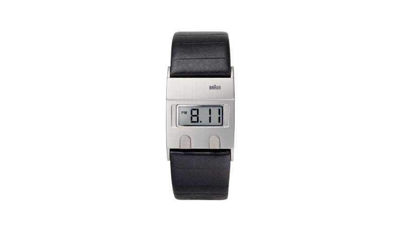 Illustration for article titled Braun (Sorta) Resurrects an Old Dieter Rams Watch Design
