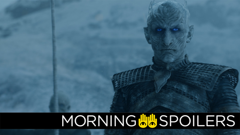 Ice to see you, Night King.