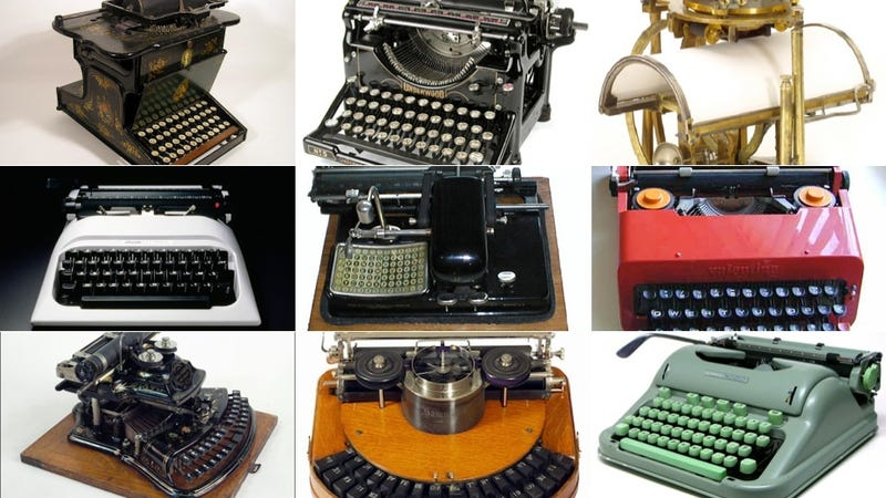 Illustration for article titled 10 of History's Most Beautiful Typewriters