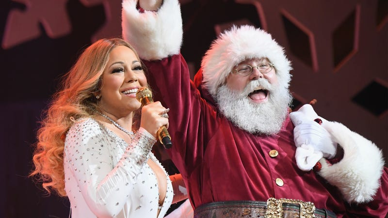 Illustration for article titled Not even Mariah Carey can stand up to Mariah Carey's dark dominion over the holiday music charts