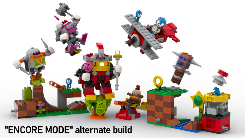 Look At This Excellent Sonic Mania Lego Ideas Submission Gizmodo Uk