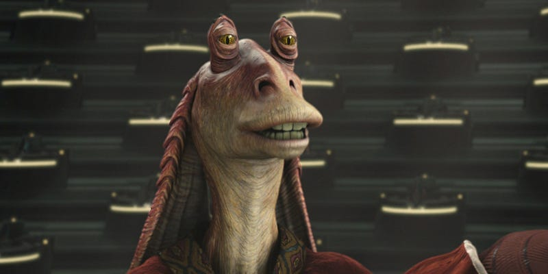Illustration for article titled El actor que interpretó a Jar Jar Binks en Star Wars contempló el suicidio tras la reacción del público