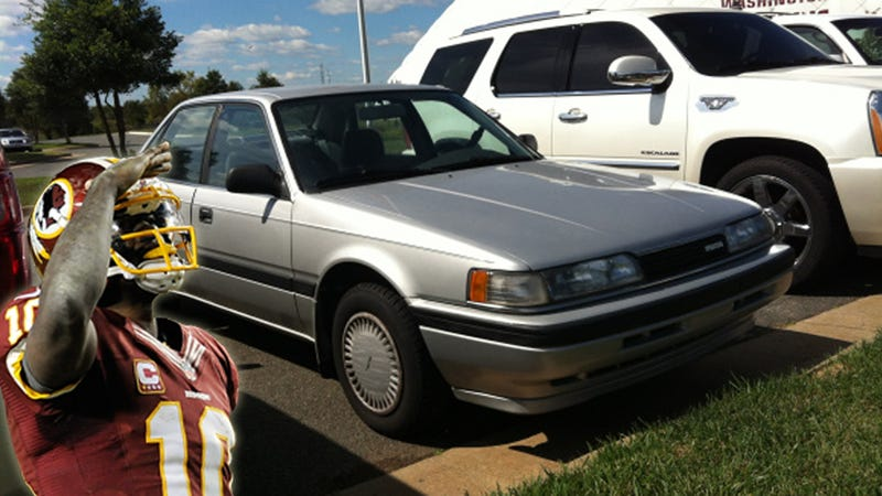 Illustration for article titled Instead Of Buying A Supercar, Redskins RB Refurbished His 1991 Mazda