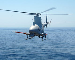Illustration for article titled Pilotless Navy Helicopter Busts Cocaine Deal During Trial Run
