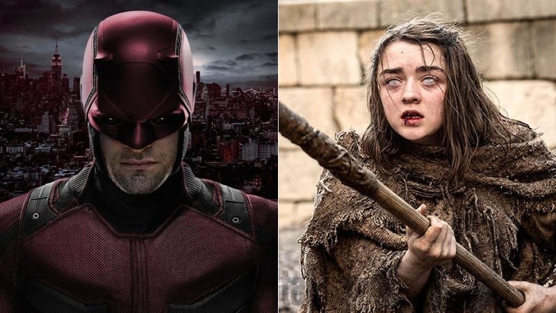 Illustration for article titled Daredevil Has Some Advice for Arya Stark