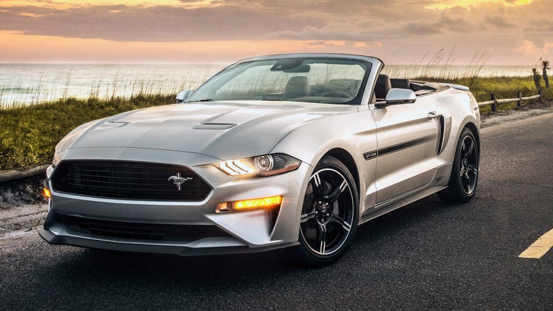 Illustration for article titled The 2019 Ford Mustang Brings Back The California Special