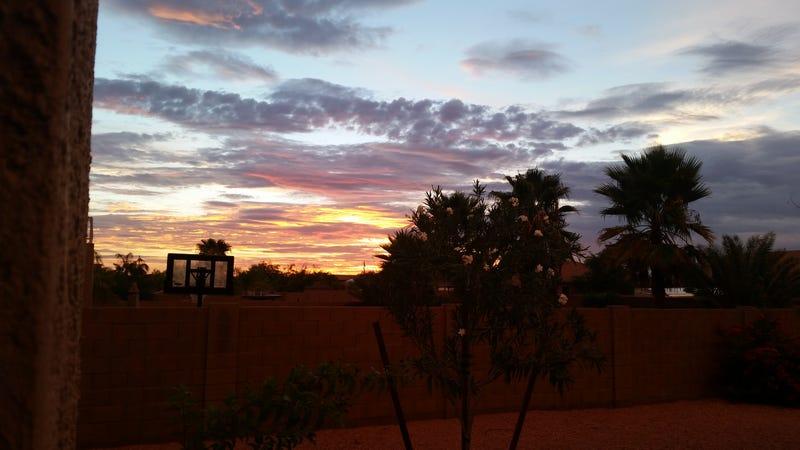 Illustration for article titled Arizona sunset