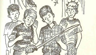 Illustration for article titled I'll Never Forget Solving Mysteries With Encyclopedia Brown