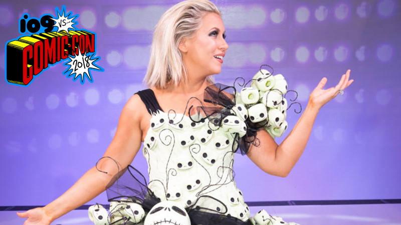 Ashley Eckstein went Funko Goth for this year's Her Universe Fashion Show