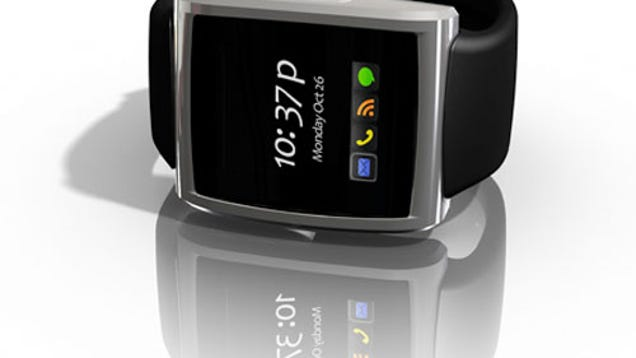 Behold, the BlackBerry* Watch: $150, Coming in February