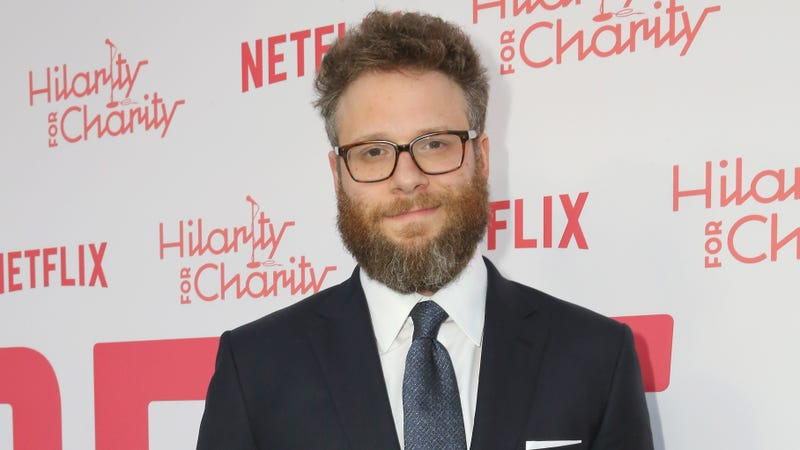Illustration for article titled Seth Rogen tells Ellen DeGeneres that he knew all about the Stormy Daniels/Trump affair