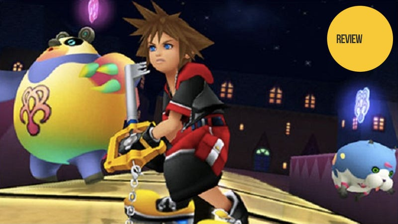 Illustration for article titled Kingdom Hearts 3D: Dream Drop Distance: The Kotaku Review