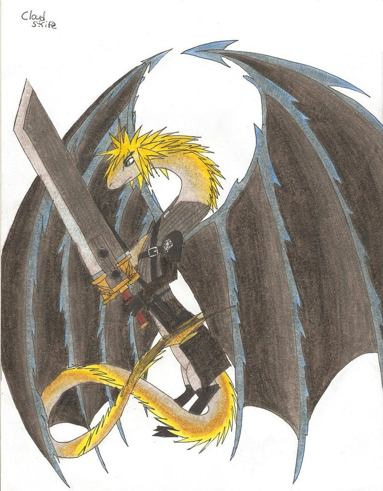 Cloud Strife Is A Hero A Lover A Woman A Rabbit He Is