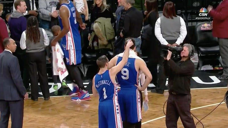 Illustration for article titled Dario Saric Goes To Great Lengths To Resolve Controversy That Didn't Exist