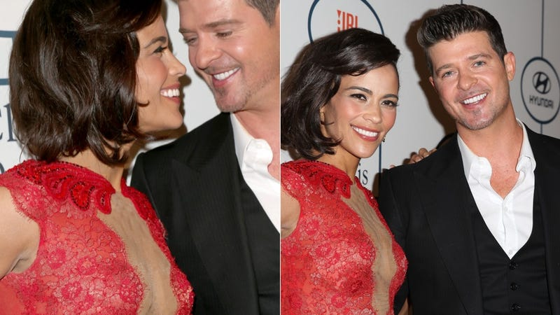 Illustration for article titled Robin Thicke and Paula Patton Separate in Move That Shocks No One