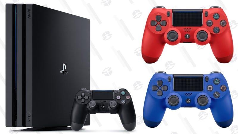 PS4 Pro | $350 | WalmartPS4 Controllers | $40 | Walmart