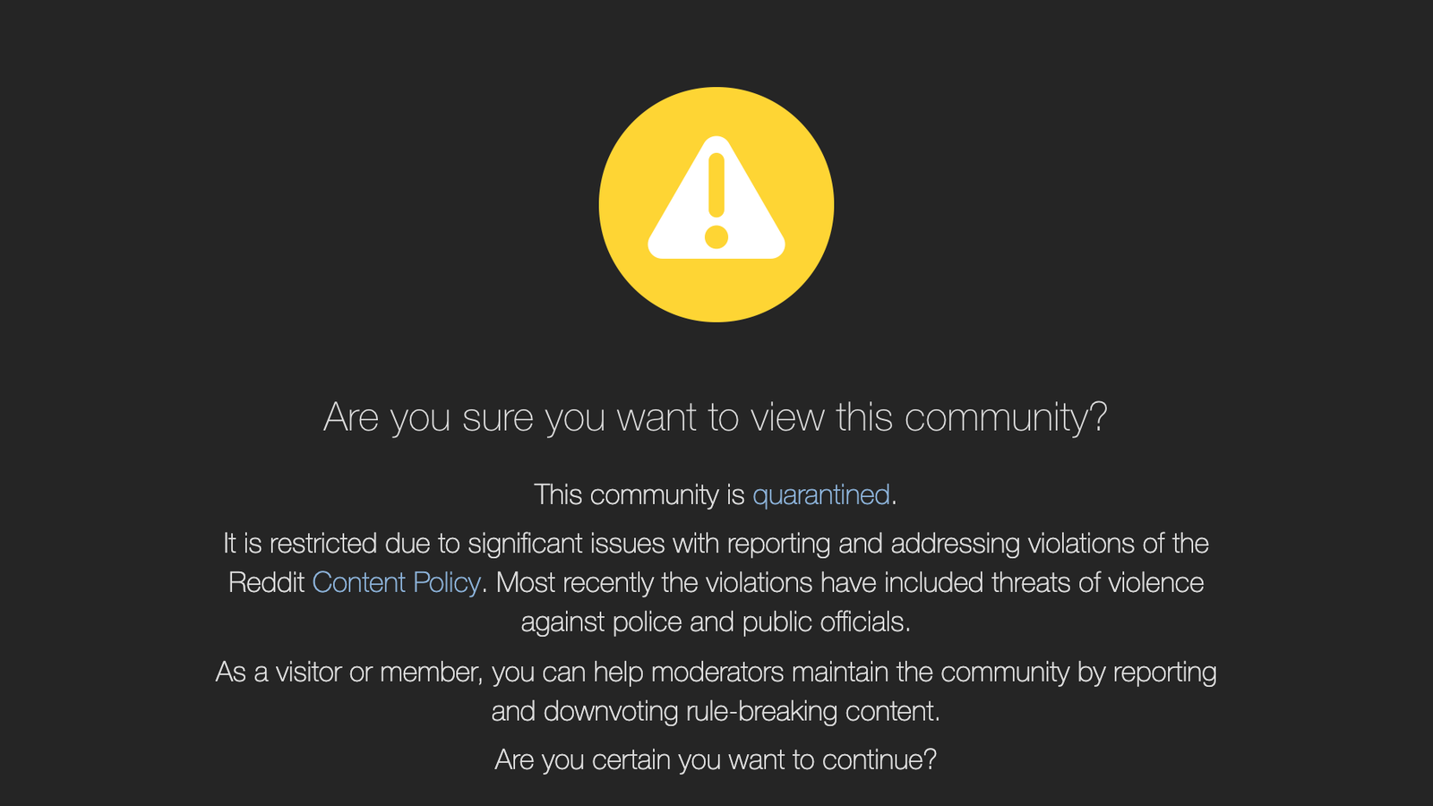 Reddit Quarantines Pro-Trump Community r/The_Donald