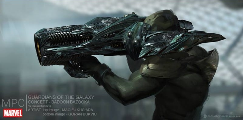 Illustration for article titled Concept Art Of The Alien Race That Was Cut From Guardians Of The Galaxy