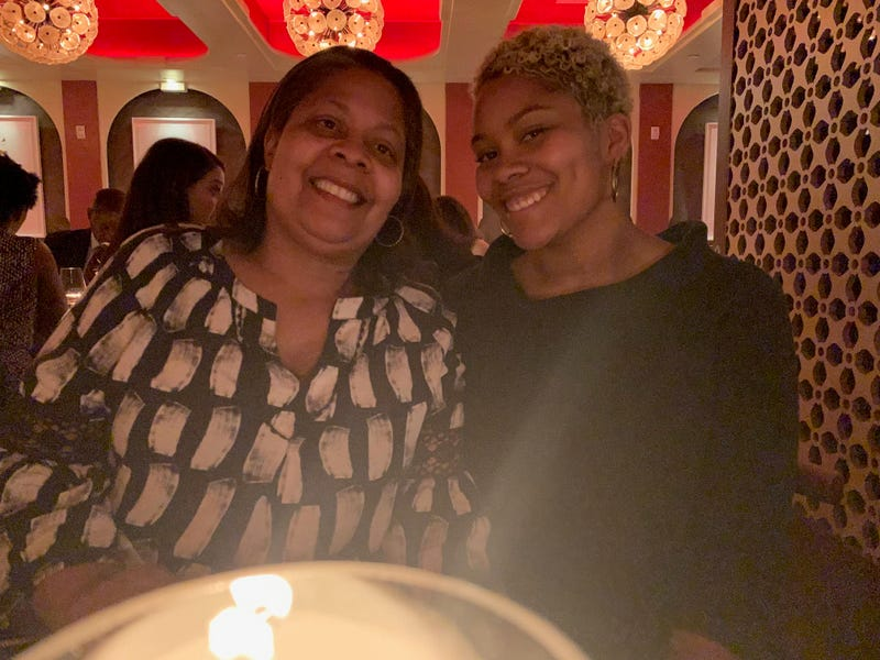 Tonja Ottley, left, and her daughter Tianna Ottley at Harlem EatUp on Monday, May 13, 2019.