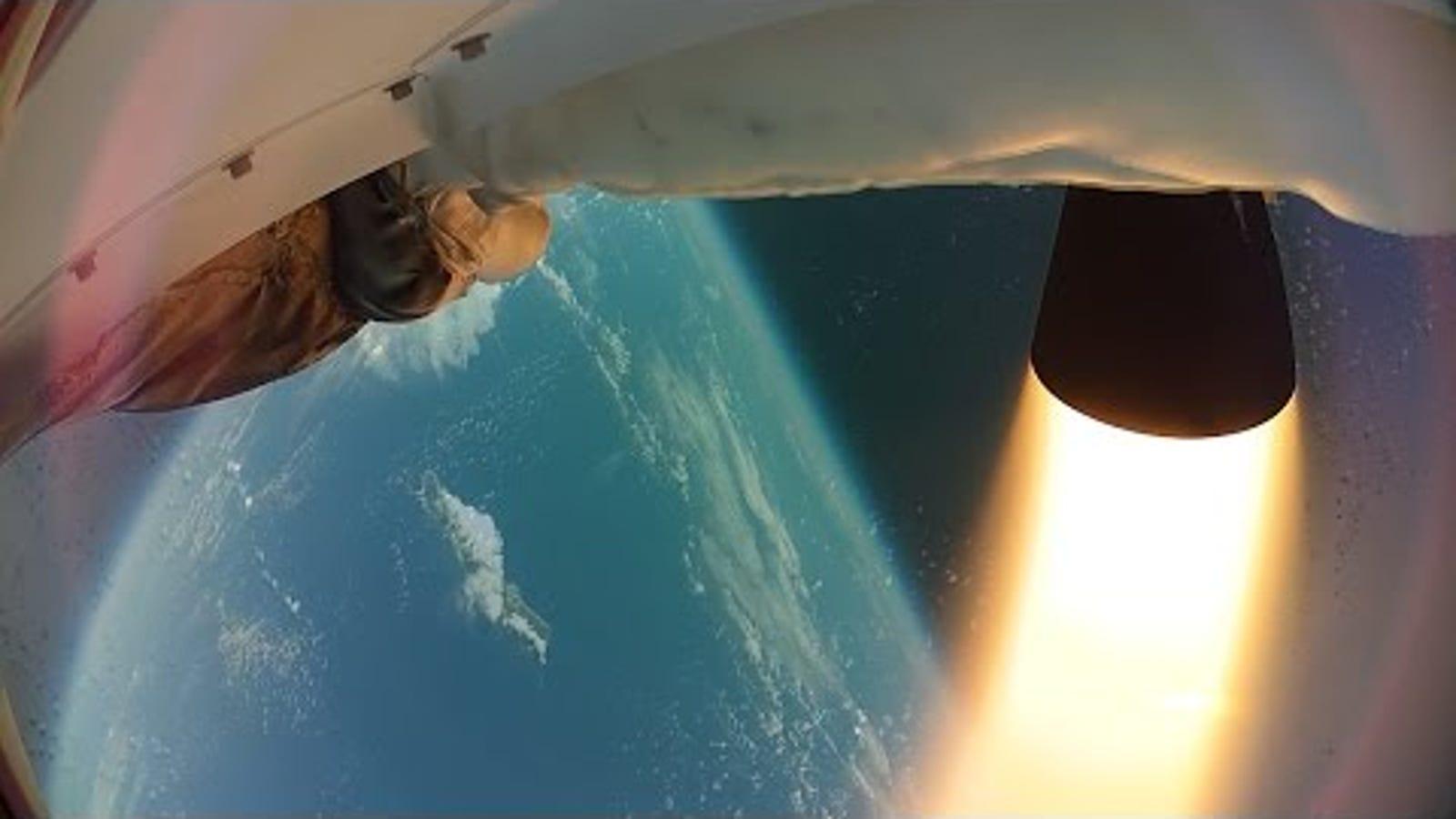Primer vídeo en HD del platillo volante supersónico probado por NASA
